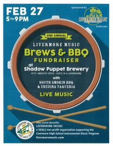 2nd Annual Brews & BBQ Fundraiser @ Shadow Puppet Brewery